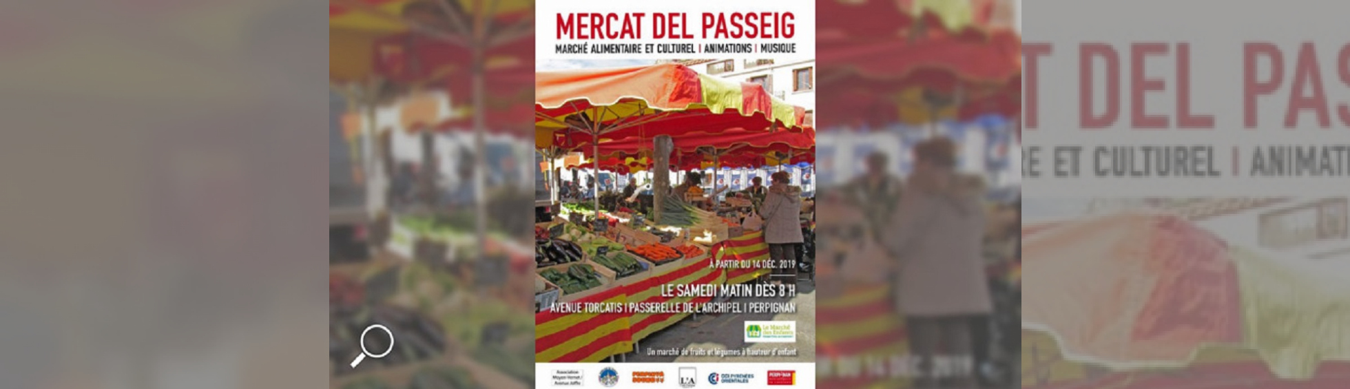 Photo N°1 : MARCHÉ PASSEIG TORCATIS