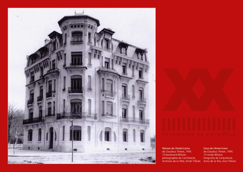 perpignan au xxe si cle architectures et modernit s perpignan la catalane perpiny la catalana. Black Bedroom Furniture Sets. Home Design Ideas